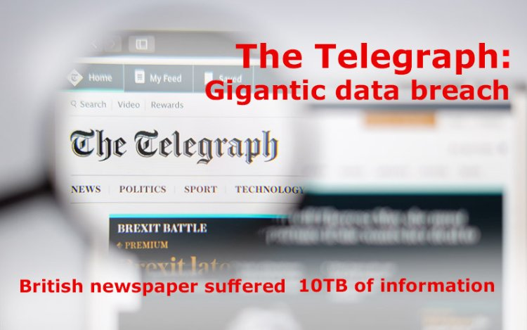 The Telegraph Exposed to First Giant Data Leak